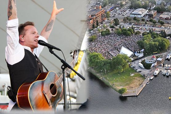 Kiefer Sutherland Mentions Peterborough on National TV  #musicfest30 #ptbo #cottagecountry
