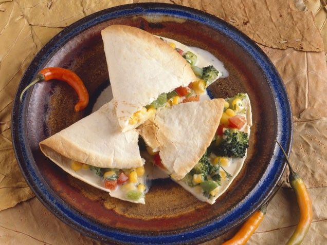 Vegetable Quesadillas With Fresh Salsa Recipes — Dishmaps