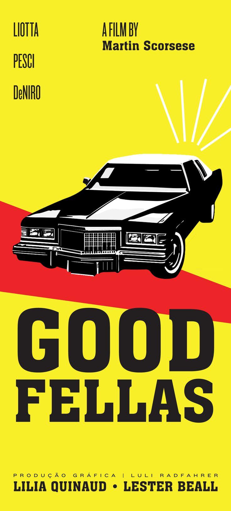 Goodfellas  - Alternative movie poster for the mob movie classic #GangsterMovie #GangsterFlick