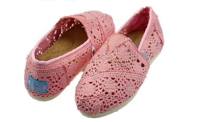 Toms Classics Pink Women Shoes