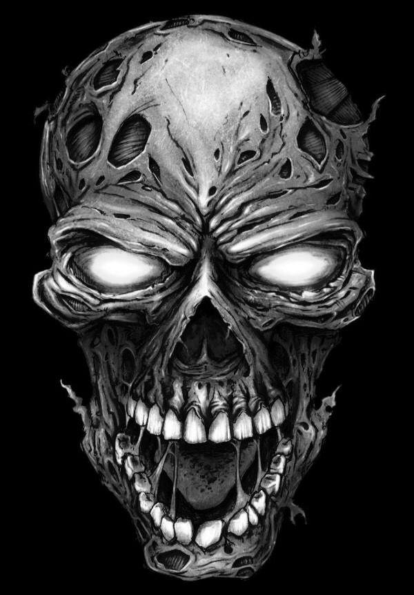 изготовление картинки черепа монстр право стать