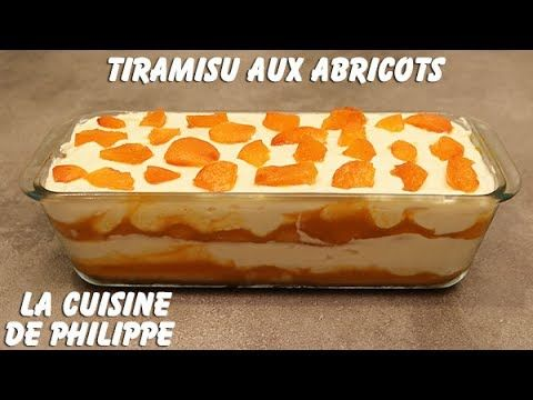 (1) Tiramisu aux abricots - YouTube
