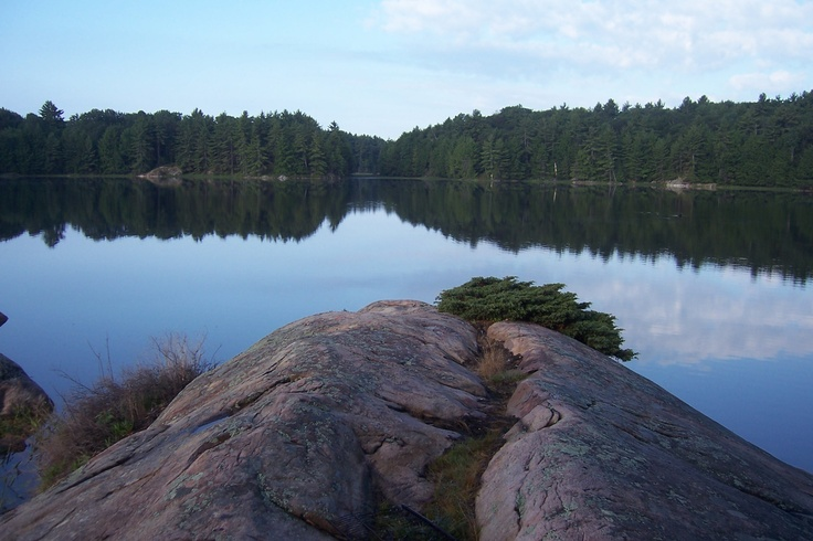 Best campsite view (The Massasauga Provincial Park 2009)