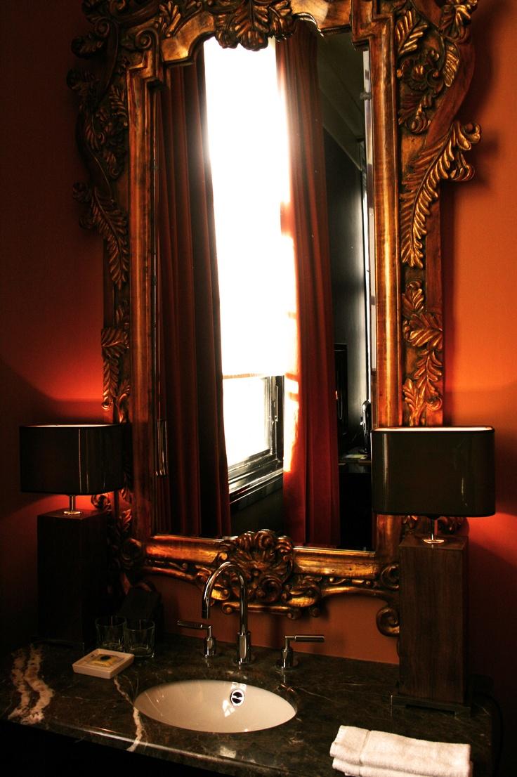 Barok mirror @ The College Hotel, Amsterdam.