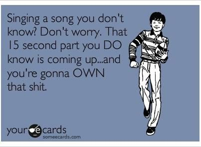 HilariousLaugh, Quotes, Singing, Songs, Funny Stuff, So True, Humor, Ecards, Shit