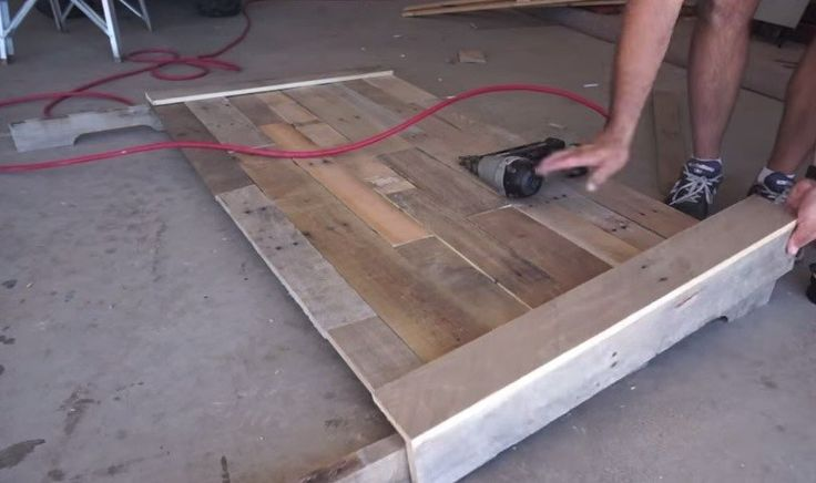 how to build temporary step pallets