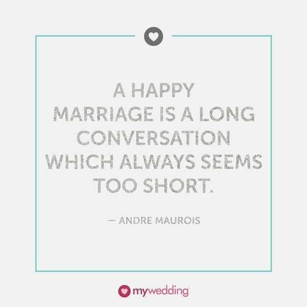 Andre Maurois Quote On Happy Marriages
