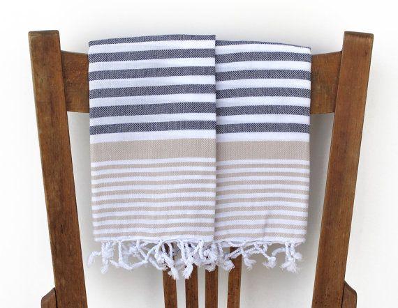 Kitchen Towel PESHKIR Handwoven Cotton Turkish Hand Towel Bathroom Towel  Face Towel Tea Towel Guest Towel