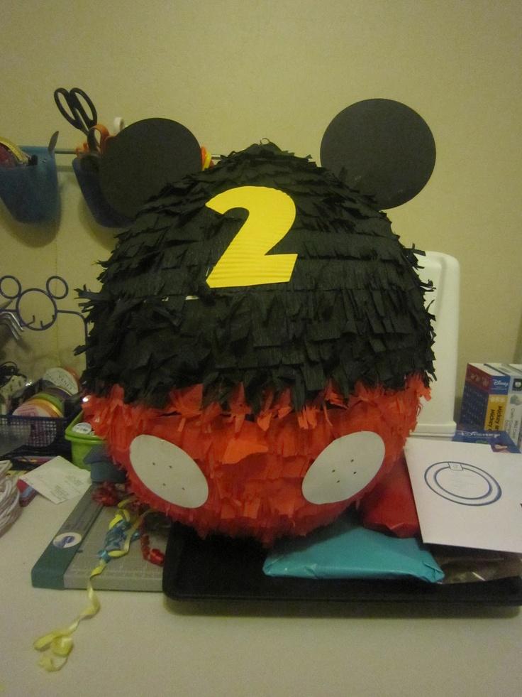 Mickey Mouse Piñata - Eclectic Momsense