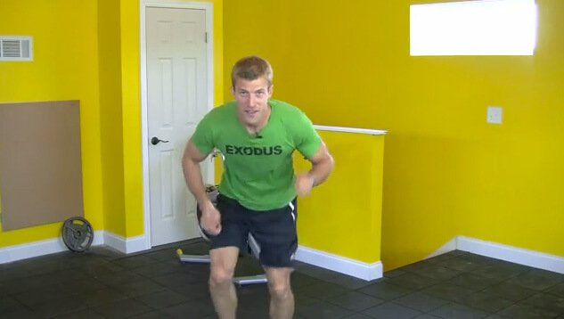 Dr. Axe leads you in a short, but powerfully effective burst training workout!
