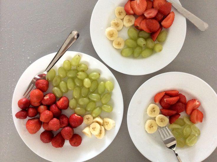 Ovocné talířky