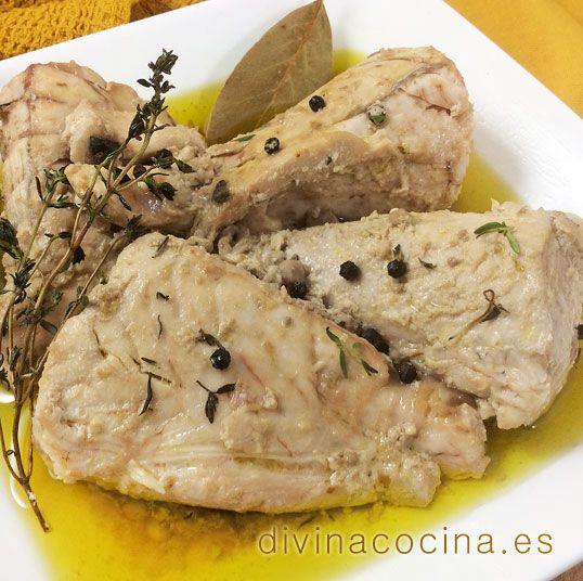atun confitado Atún confitado en aceite de oliva