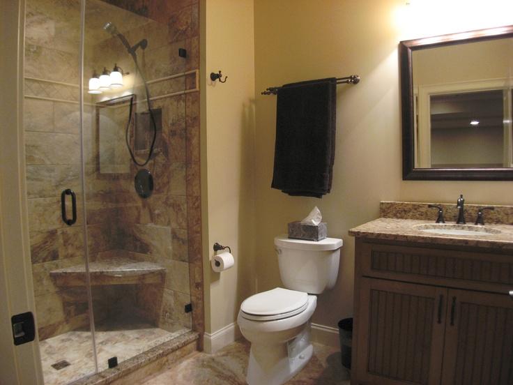 Another basement bathroom85 best Basement Bathroom images on Pinterest   Home  Bathroom  . Basement Bathroom Images. Home Design Ideas
