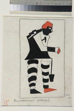 Kostuumontwerp van Malevich