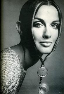 Veronica Hamel 1969 Vogue, by Richard Avedon