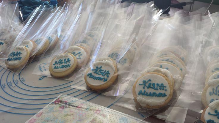 NSIA Fundraising cookies