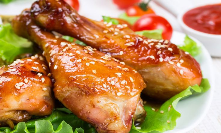 Sesame Glazed Drumsticks