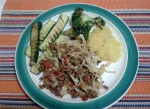 Savory Mince and veggies