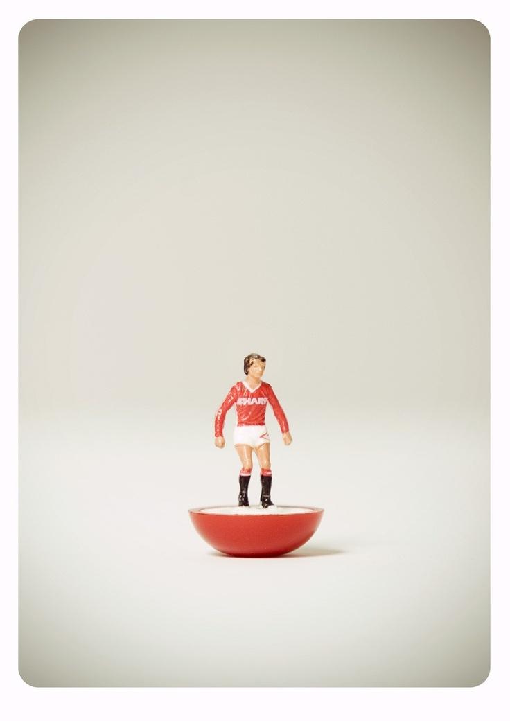 Manchester United Subbuteo player 92-94