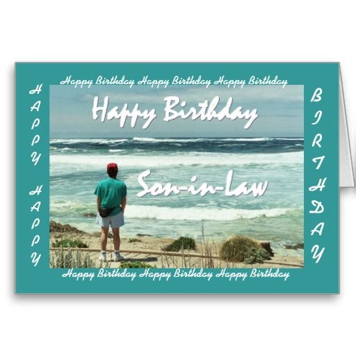 74 Best Images About BIRTHDAY SON-IN-LAW On Pinterest