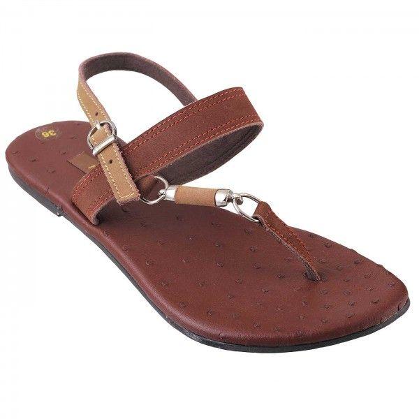 Metro Tan Casual Sandals