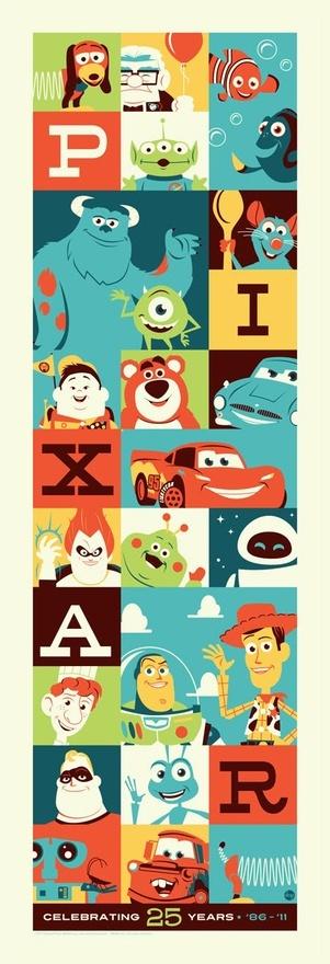 Pixar - #illustration #Pixar