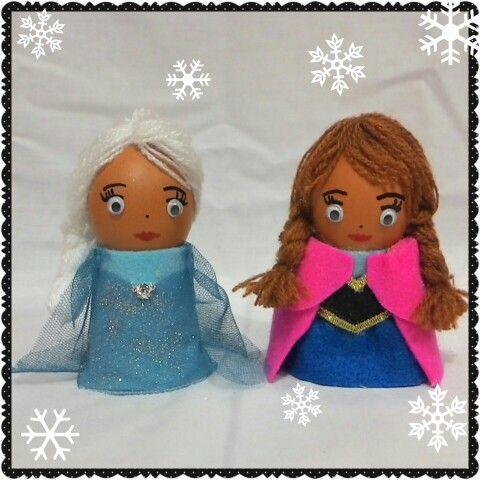 Easter egg # Elsa and anna