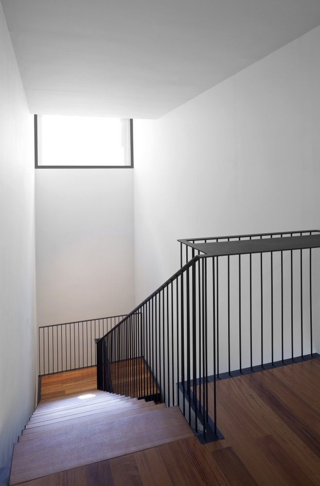 Handrail at Cap Vermell Cultural Center by BB Arquitectes