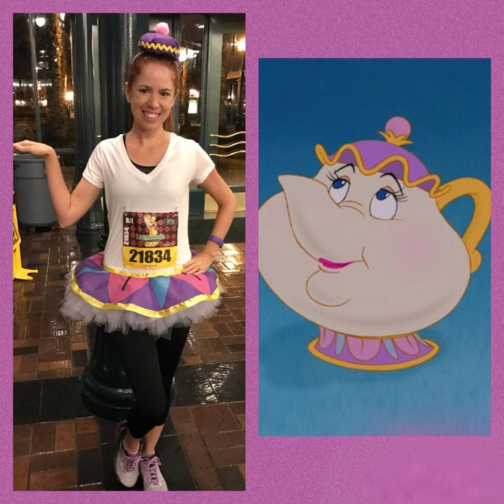 Race costume - Mrs. Potts from Beauty and the Beast