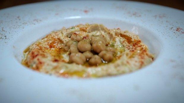Homus de gro-de-bico: receita da Bela Gil para o Bela Cozinha (Foto: Reproduo/GNT)