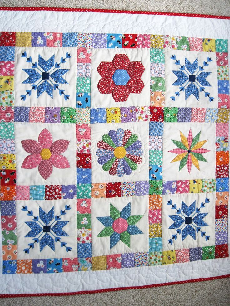 Patchwork Quilt Patterns For Babies Cafca Info For