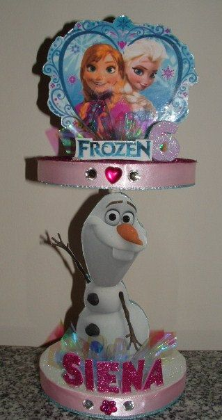 Best frozen centerpieces ideas on pinterest