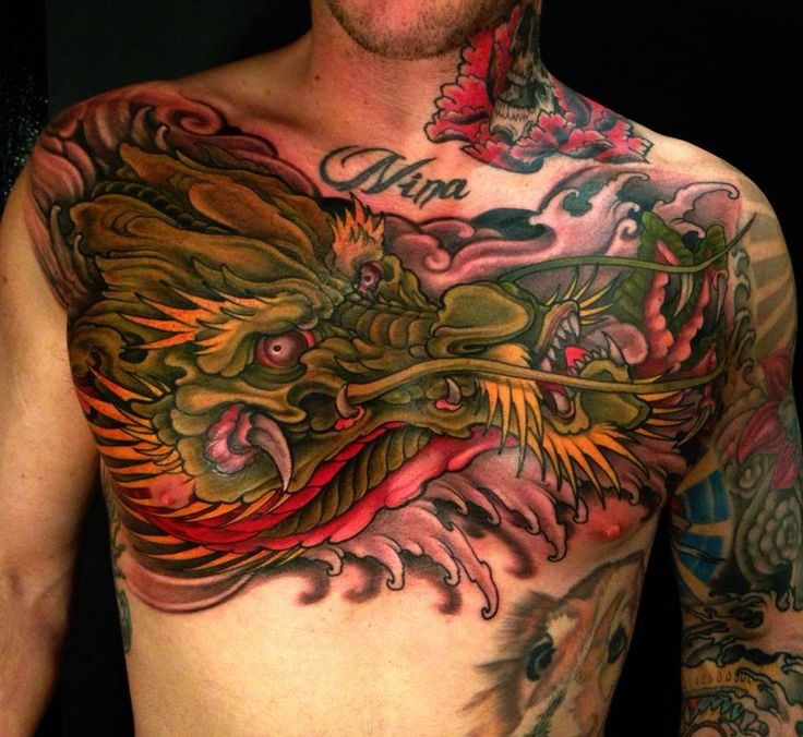 Tiger And Dragon Full Chest Piece: 375 Best Full Ngực Images On Pinterest