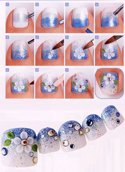 *OCEASIA BEAUTY and NAILS - TOE NAIL ART-*2 THE MOST POPULAR NAILS AND POLISH #nails #polish #Manicure #stylish