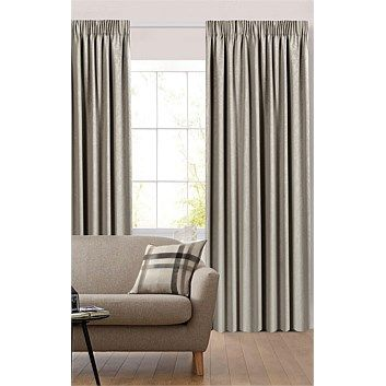 Briscoes - Habitat Florentine Pencil Pleat Curtains - Pair