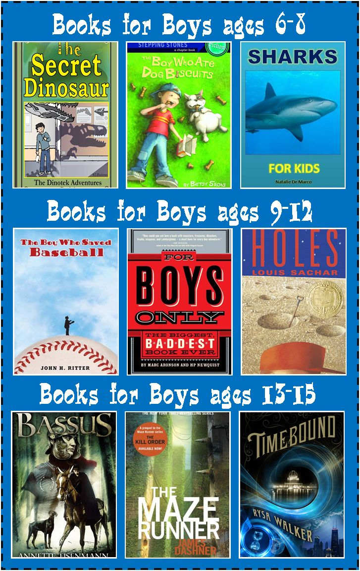 Books for Boys: Make Reading Fun