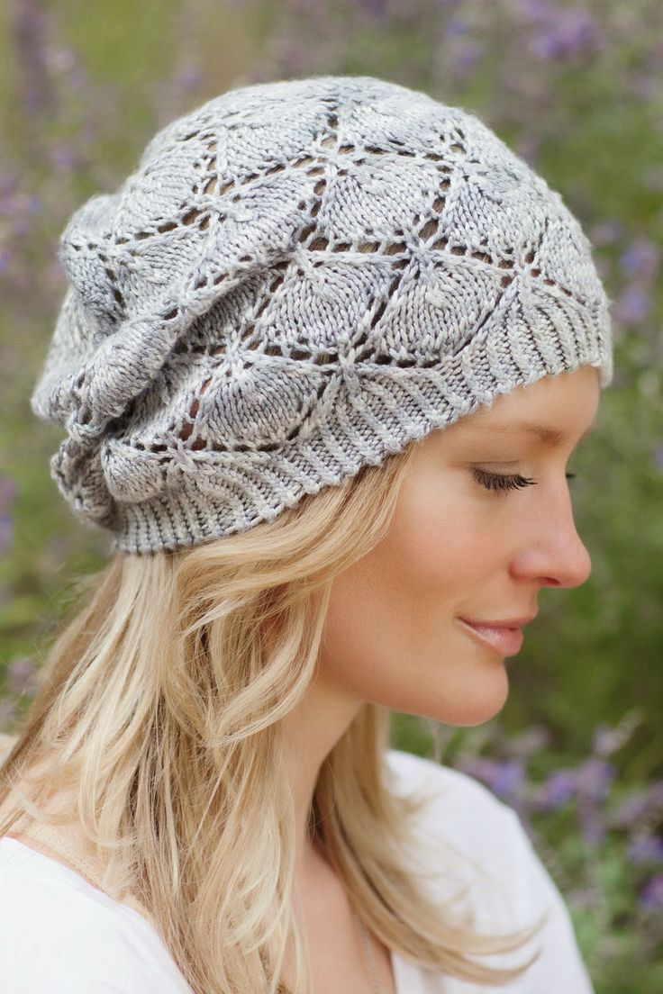 Hat from third Knitter's Curiosity Cabinet book Lorna's Lace Honor yarn