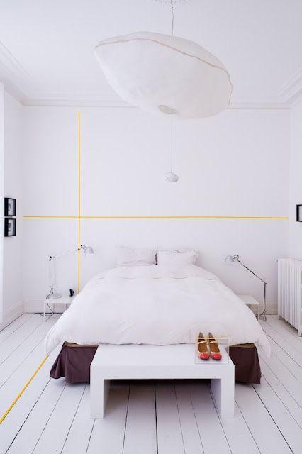 Washi Tape Wall & Floor Deco