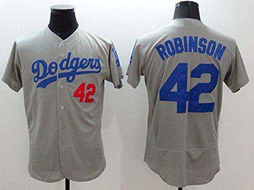 Cheap Men 42 Jackie Robinson Baseball Home Jersey White XXL Father day sale