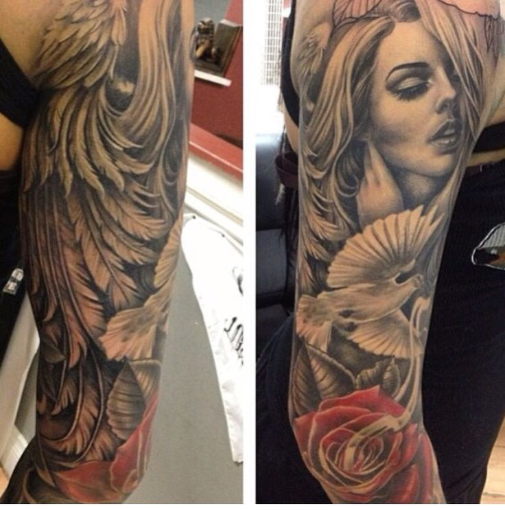 That arm....