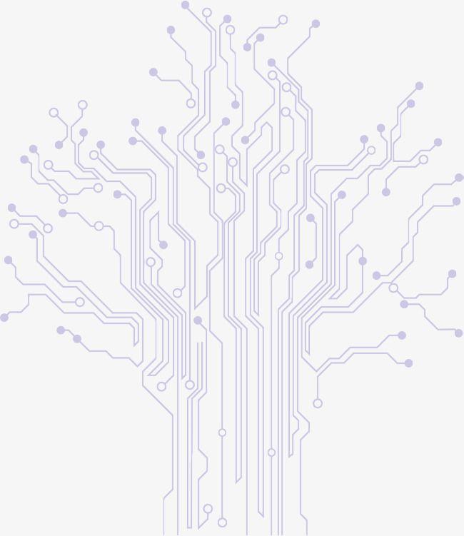 tree circuit diagram  outward diffusion  upward stretch