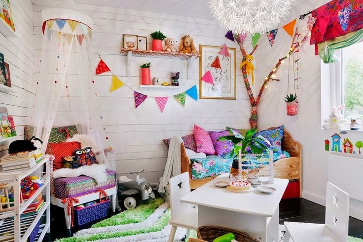 the boo and the boy: eclectic kids' rooms. For the out doorsey child!