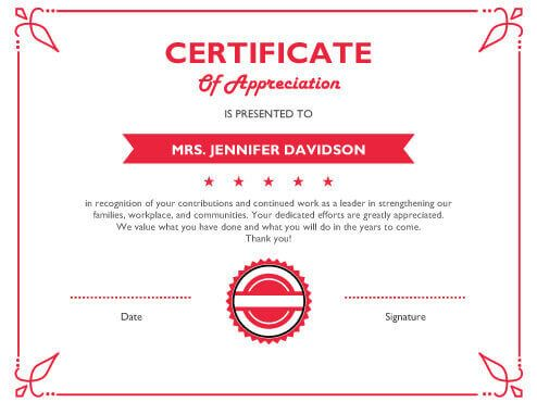 The 25+ best Sample certificate of recognition ideas on Pinterest - employee award certificate templates free
