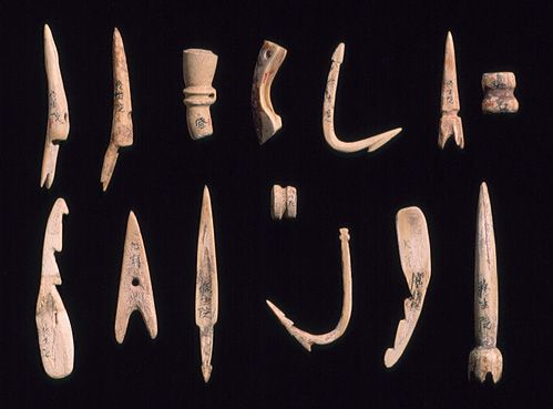 Needles, hooks, and harpoon [Japan] (1975.268.333-345) | Heilbrunn Timeline of Art History | The Metropolitan Museum of Art