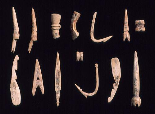 Needles, hooks, and harpoon [Japan] (1975.268.333-345)   Heilbrunn Timeline of Art History   The Metropolitan Museum of Art