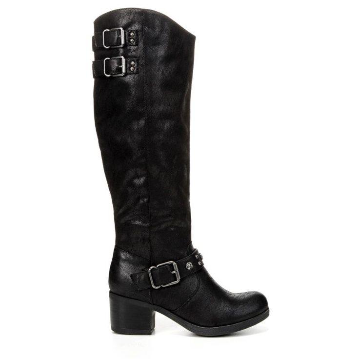 Carlos BY Carlos Santana Women's Cara Wide Calf Boots (Black)
