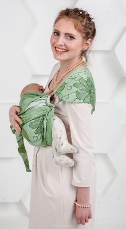 """Мамарада Слинг с кольцами Луиза размер S  — 2465р. ------------- Слинг с кольцами позволяет носить ребенка как горизонтально в положении """"Колыбелька"""" так и в вертикальном положении. В слинге в положении """"Колыбелька"""" малыш распологается точно так же, как у мамы на руках, что особенно актуально для новорожденного. Ткань слинга равномерно поддерживает спинку малыша по всей длине. Малышу комфортно и спокойно рядом с мамой. Мама в это время может заняться полезными делами или прогуляться. В…"""