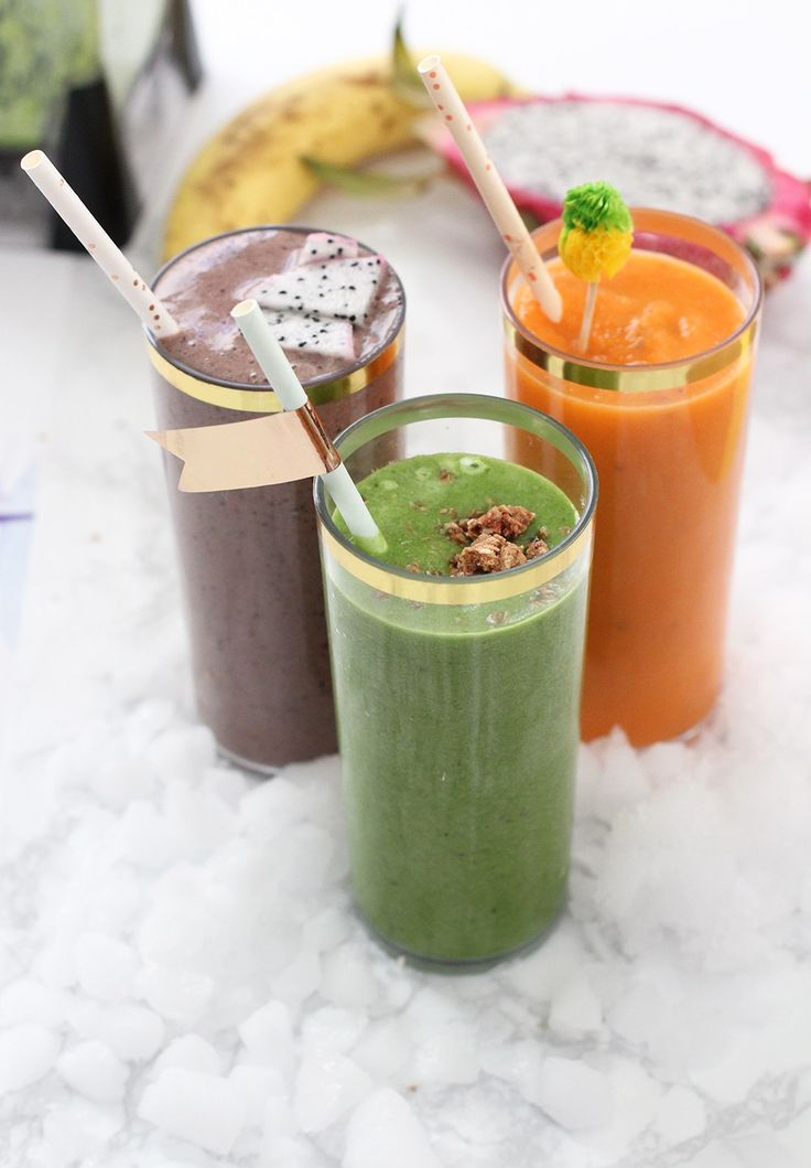 Healthy Antioxidant Smoothie Pack Ideas