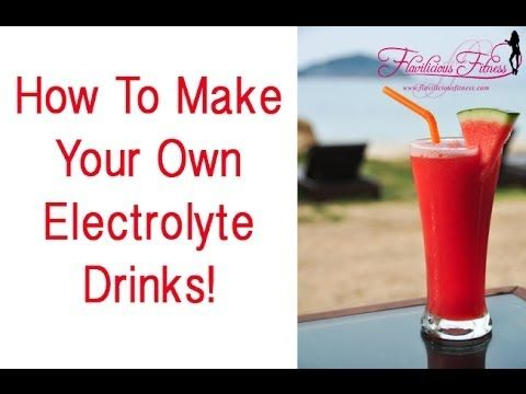 how to make your own cleansing drink