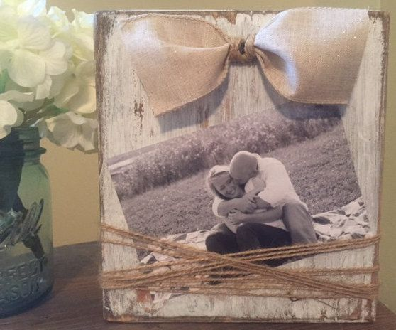 Farmhouse Picture Frame Rustic Picture Frame Wood by HammelDesigns